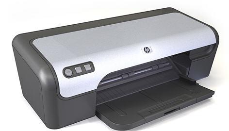 HP DeskJet D 2400 Series