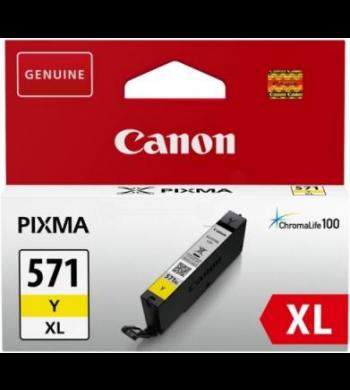 Kartuša Canon CLI-571Y XL