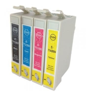 Epson T0715 BK/C/M/Y