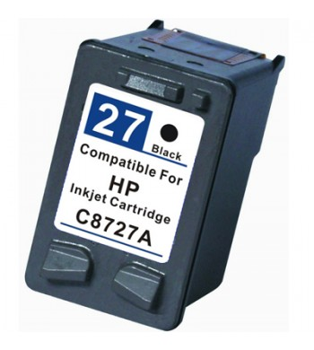 Kartuša HP št. 27XL (C8727AE), črna, kompatibilna