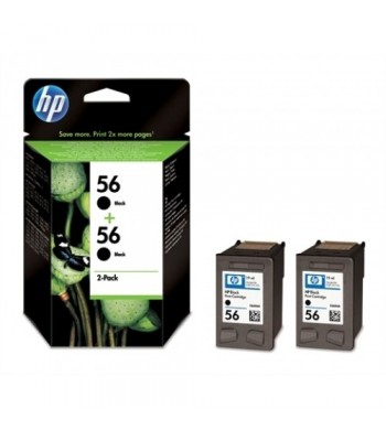 Kartuša HP št.56, dvojno pakiranje