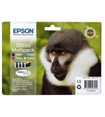 Komplet kartuš Epson T0895 BK/M/C/Y