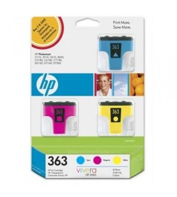 Komplet kartuš HP št. 363 C/M/Y