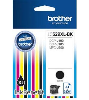 Kartuša Brother LC529XLBK