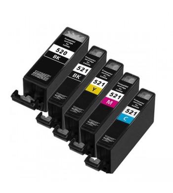 PGI-520 + CLI-521 BK/C/M/Y